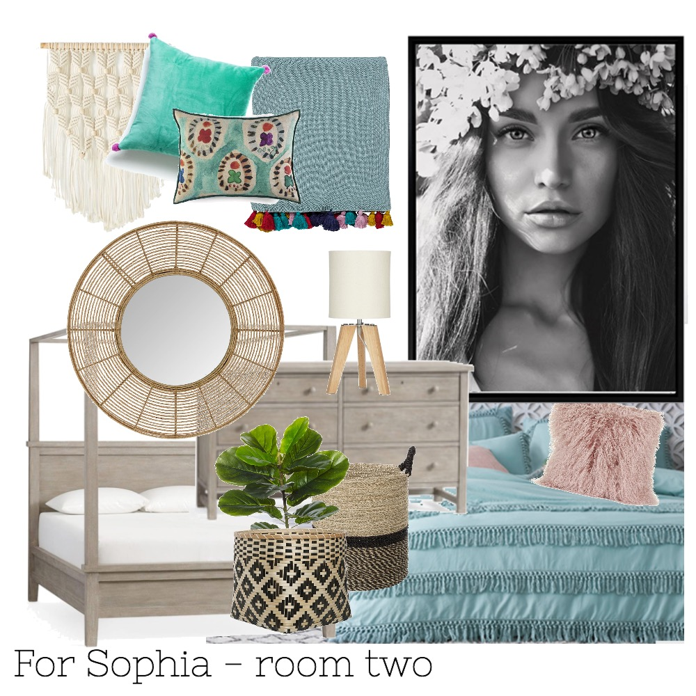 for sophia - room two Interior Design Mood Board by Bryce on Style Sourcebook