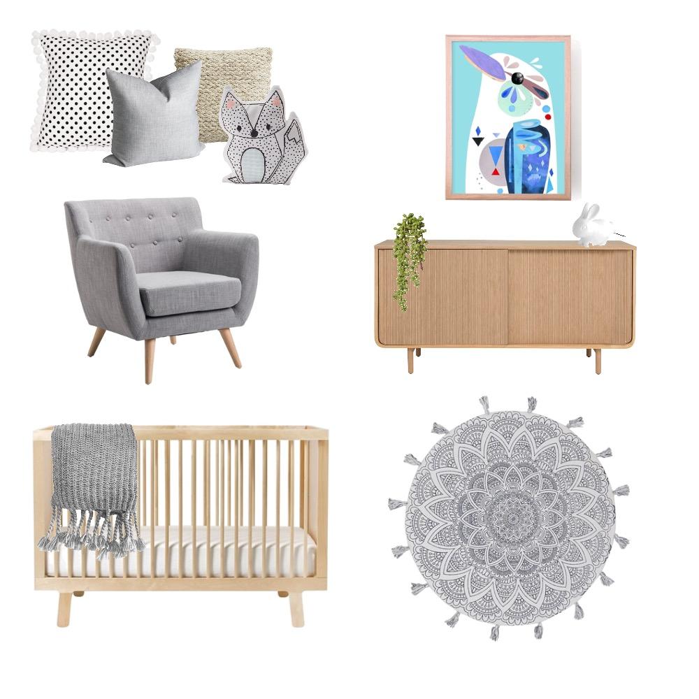 Nursery Mood Board by kcinteriors on Style Sourcebook