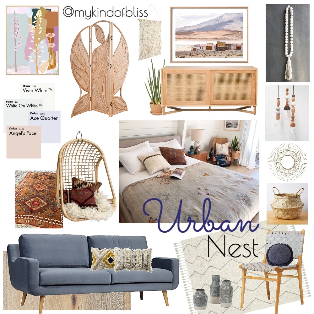 Urban Nest Mood Board by My Kind Of Bliss on Style Sourcebook