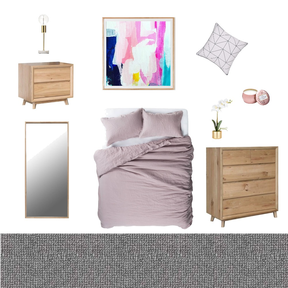 Pretty in Pink Mood Board by Gabbi on Style Sourcebook