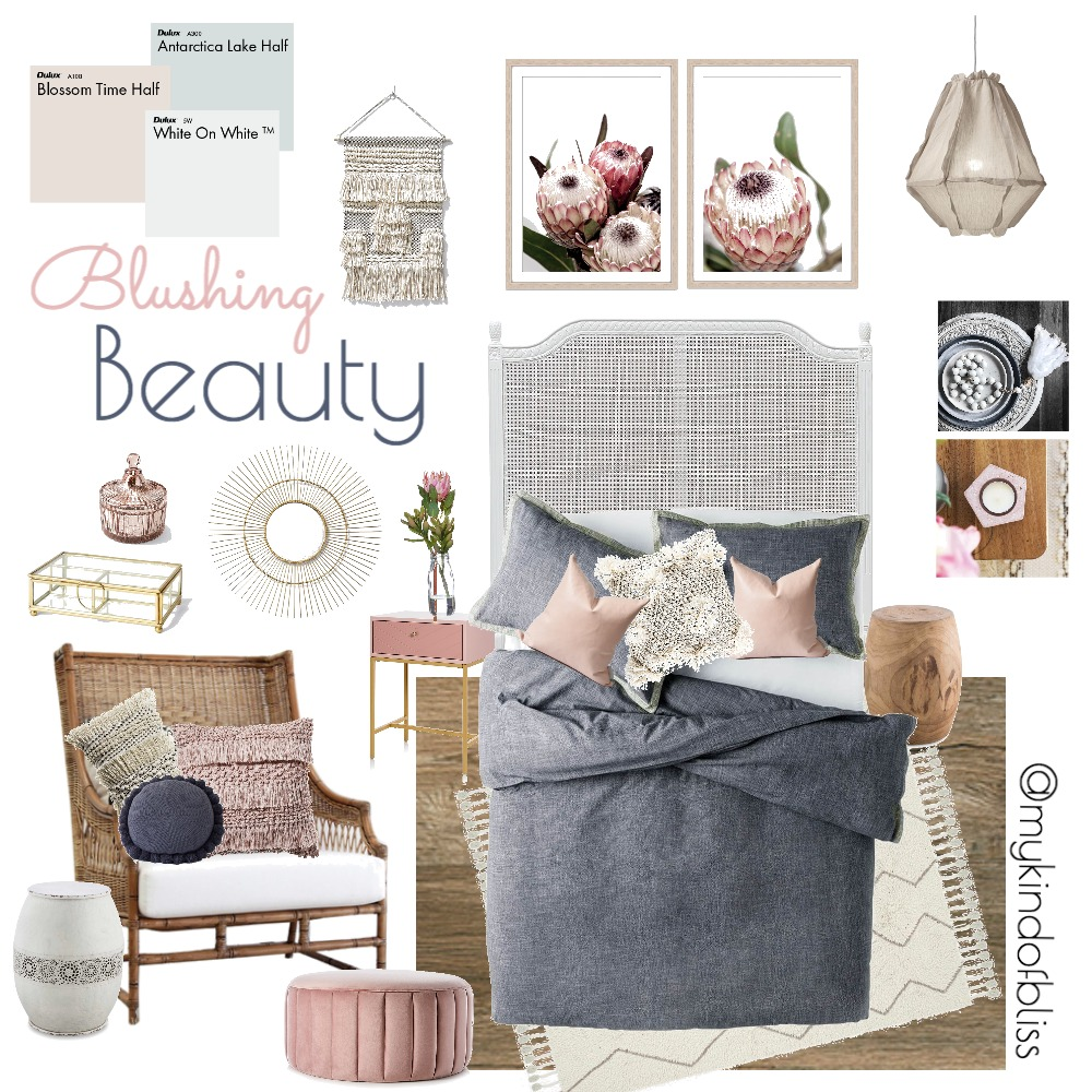Blushing Beauty Mood Board by My Kind Of Bliss on Style Sourcebook