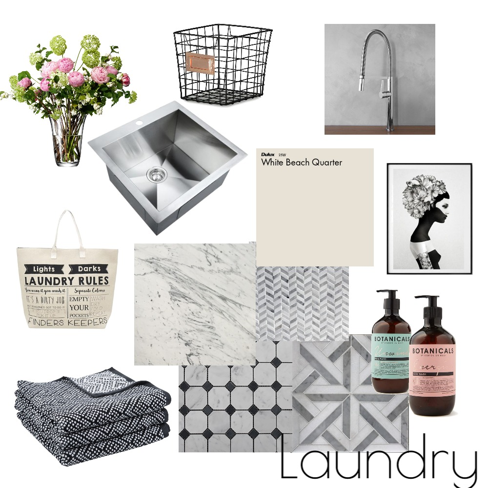 Elegant Laundry Interior Design Mood Board by LauraMcPhee on Style Sourcebook