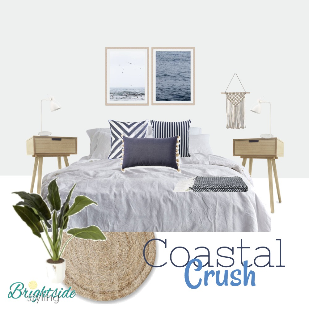 Coastal Crush - Low Range Budget Mood Board by brightsidestyling on Style Sourcebook