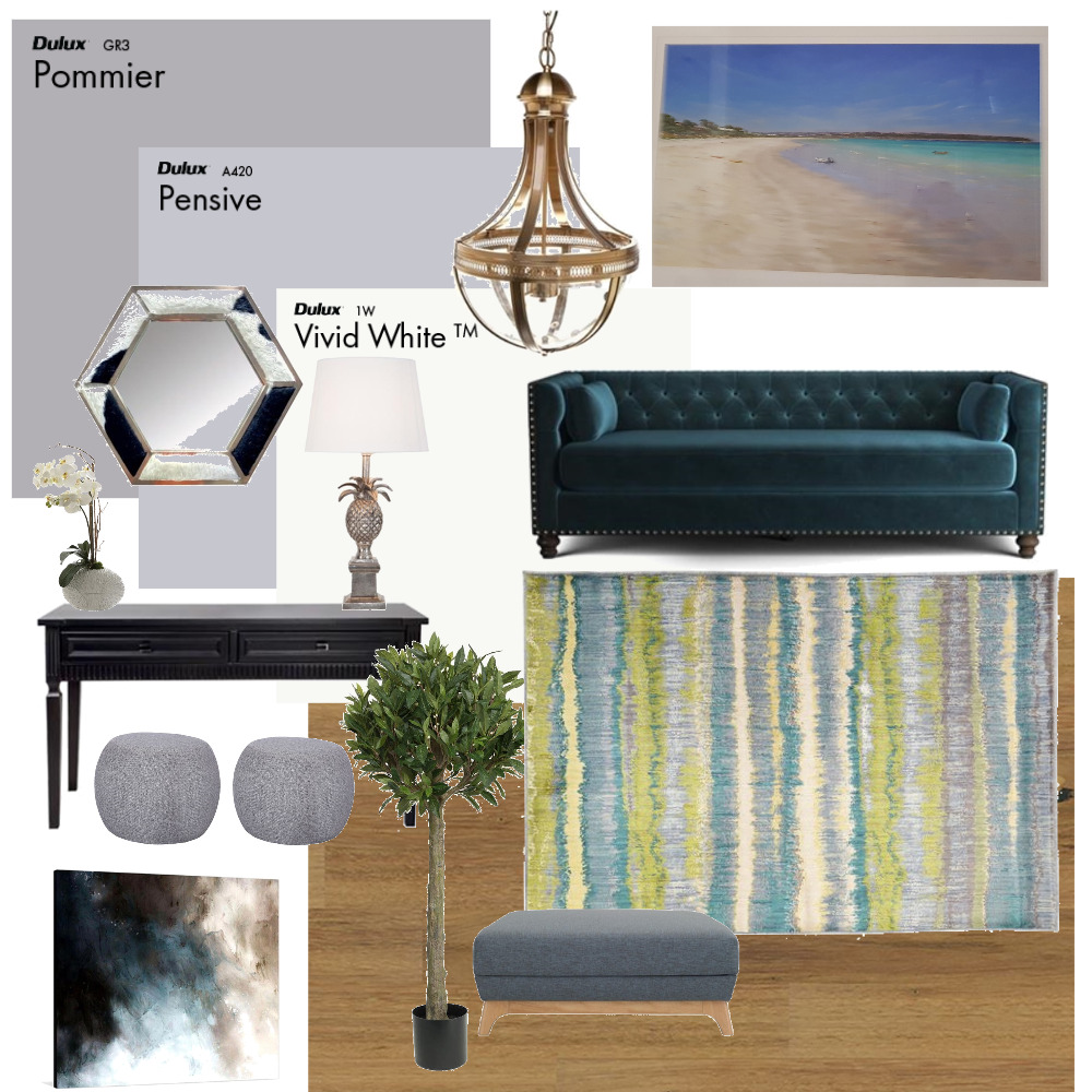 2.5m Hallway Myrtle Bank 4 Mood Board by Plush Design Interiors on Style Sourcebook