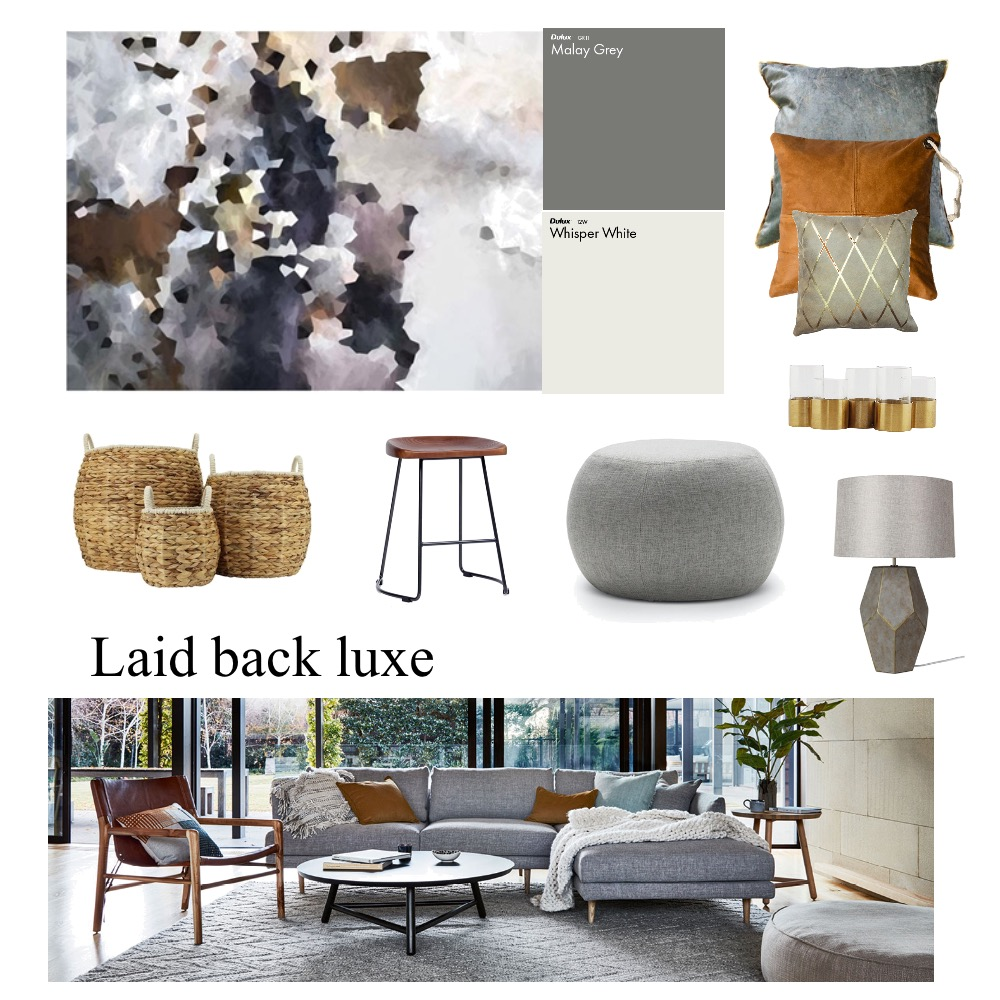 Laid-back luxe Mood Board by Inspace Design on Style Sourcebook