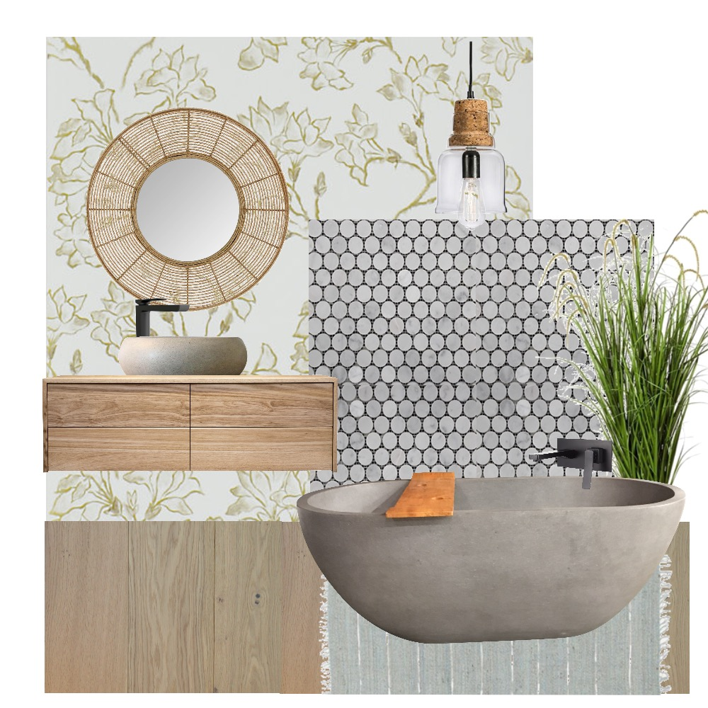 Bathroom Spaces Mood Board by Wild Lime Design on Style Sourcebook