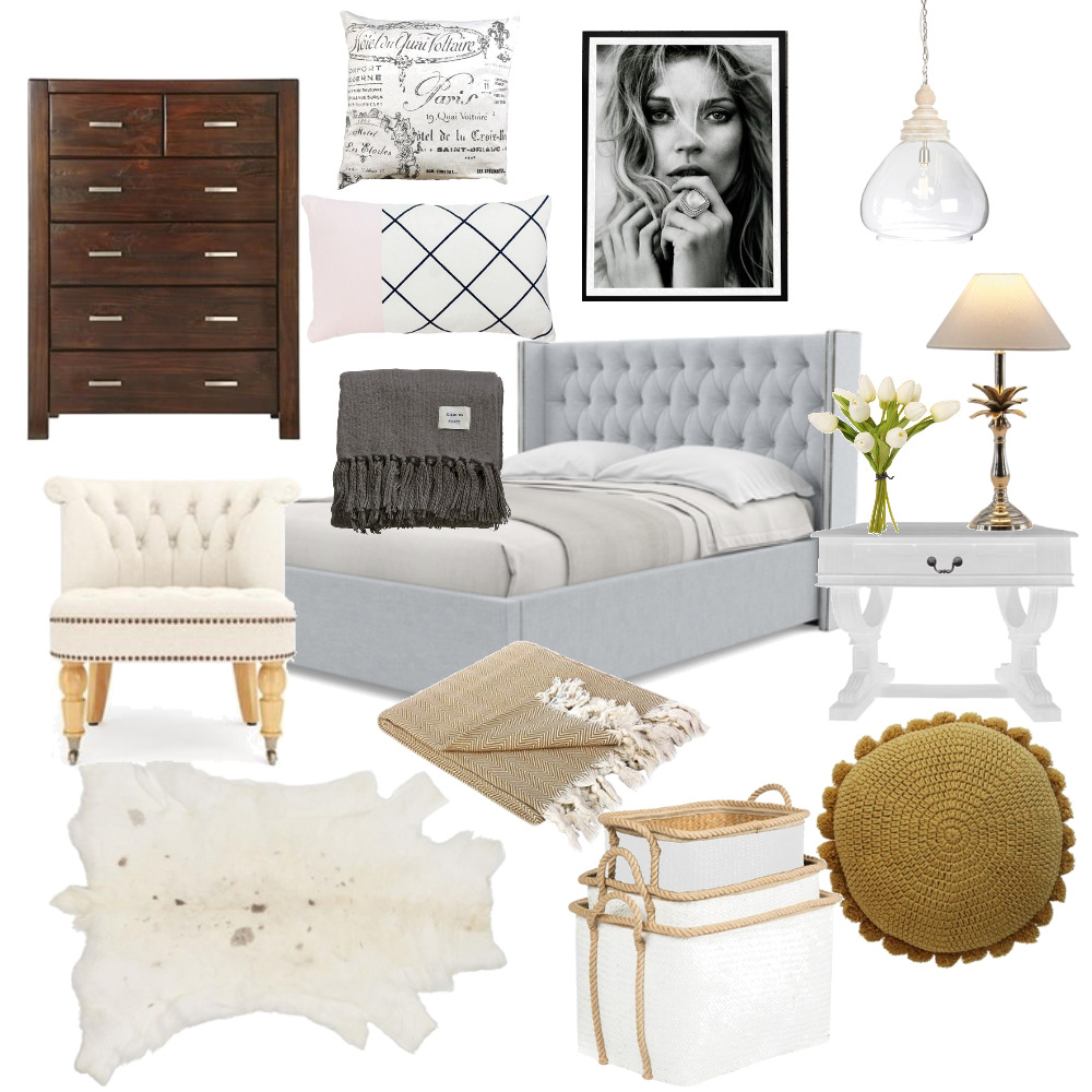 Guest Bedroom #2 Myrtlebank Mood Board by Plush Design Interiors on Style Sourcebook