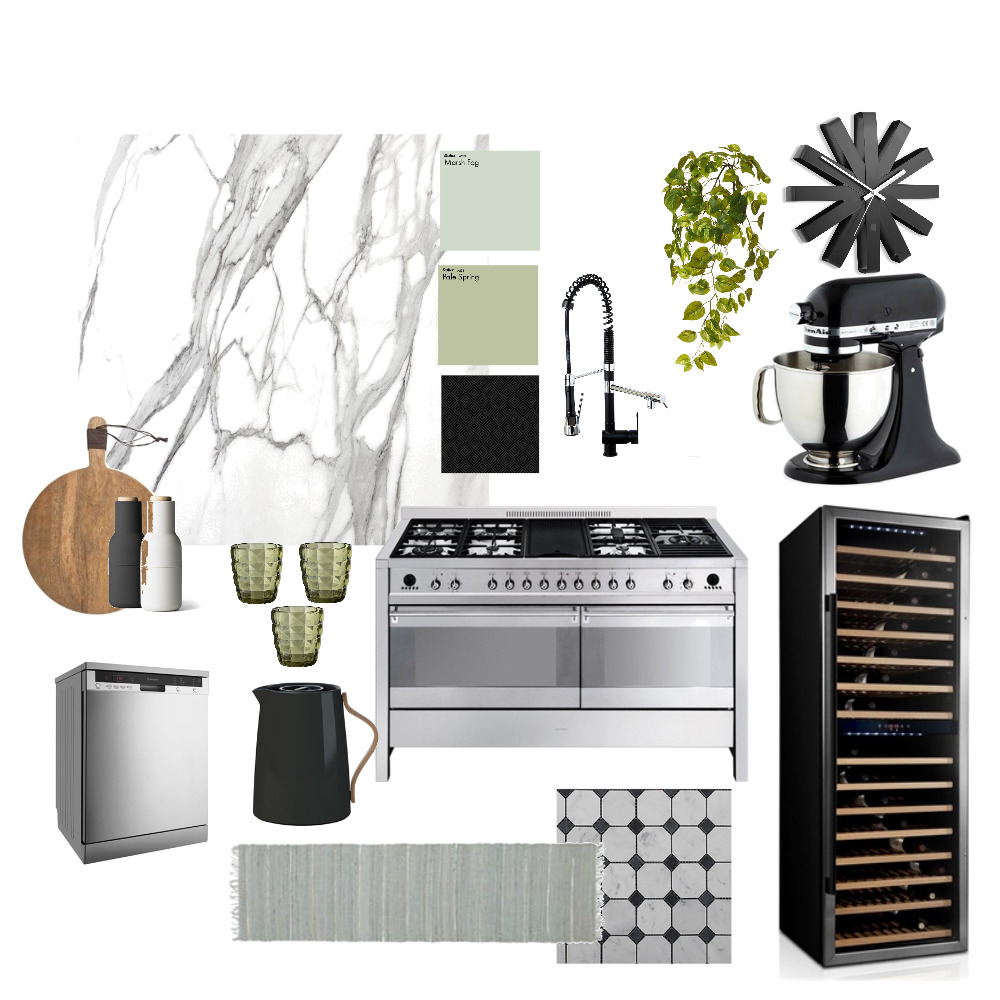 Contemporary Kitchen Mood Board by acb on Style Sourcebook