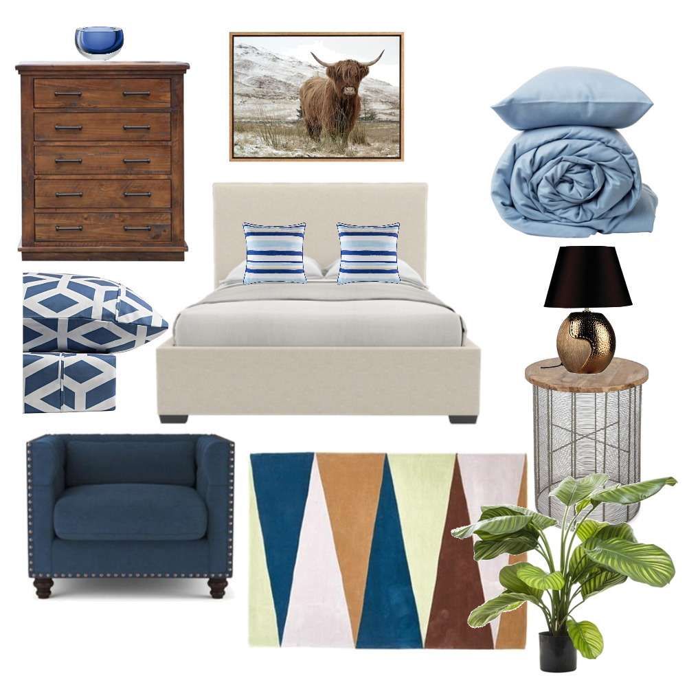 Studio Bedroom #3 Myrtlebank Mood Board by Plush Design Interiors on Style Sourcebook