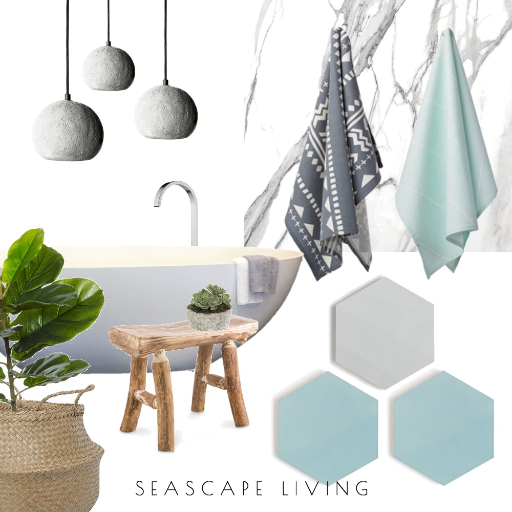Turquoise Mood Board by Seascape Living on Style Sourcebook