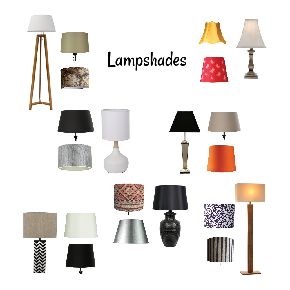 Lampshades Mood Board by Vickie65 on Style Sourcebook