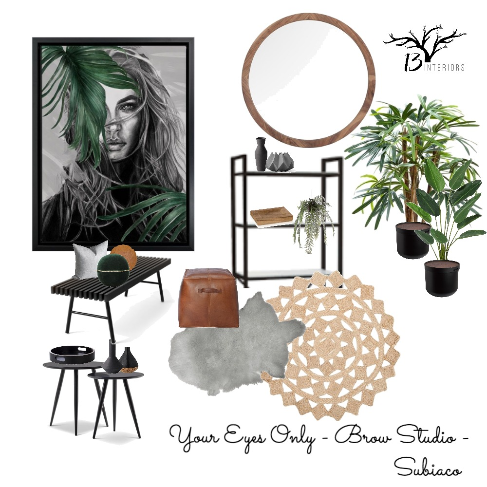 Your Eyes Only- Entry Mood Board by 13 Interiors on Style Sourcebook