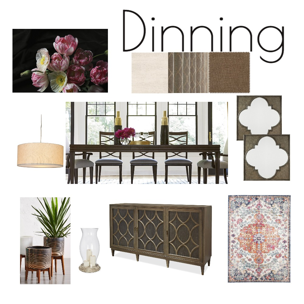Dinning Mood Board by Rafia on Style Sourcebook