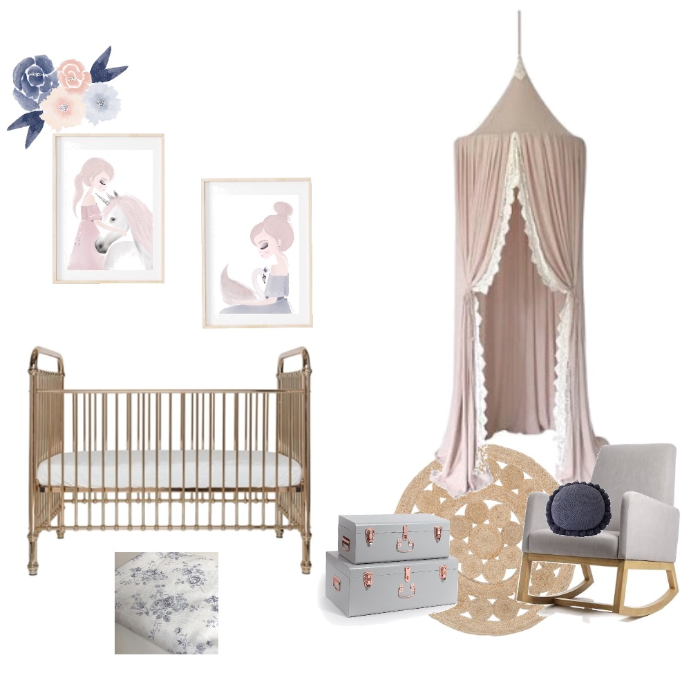 Whimsical nursery Mood Board by NarinB on Style Sourcebook