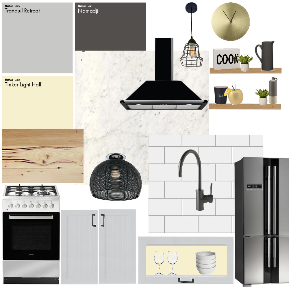 Dumeah Kitchen Interior Design Mood Board by ddumeah on Style Sourcebook