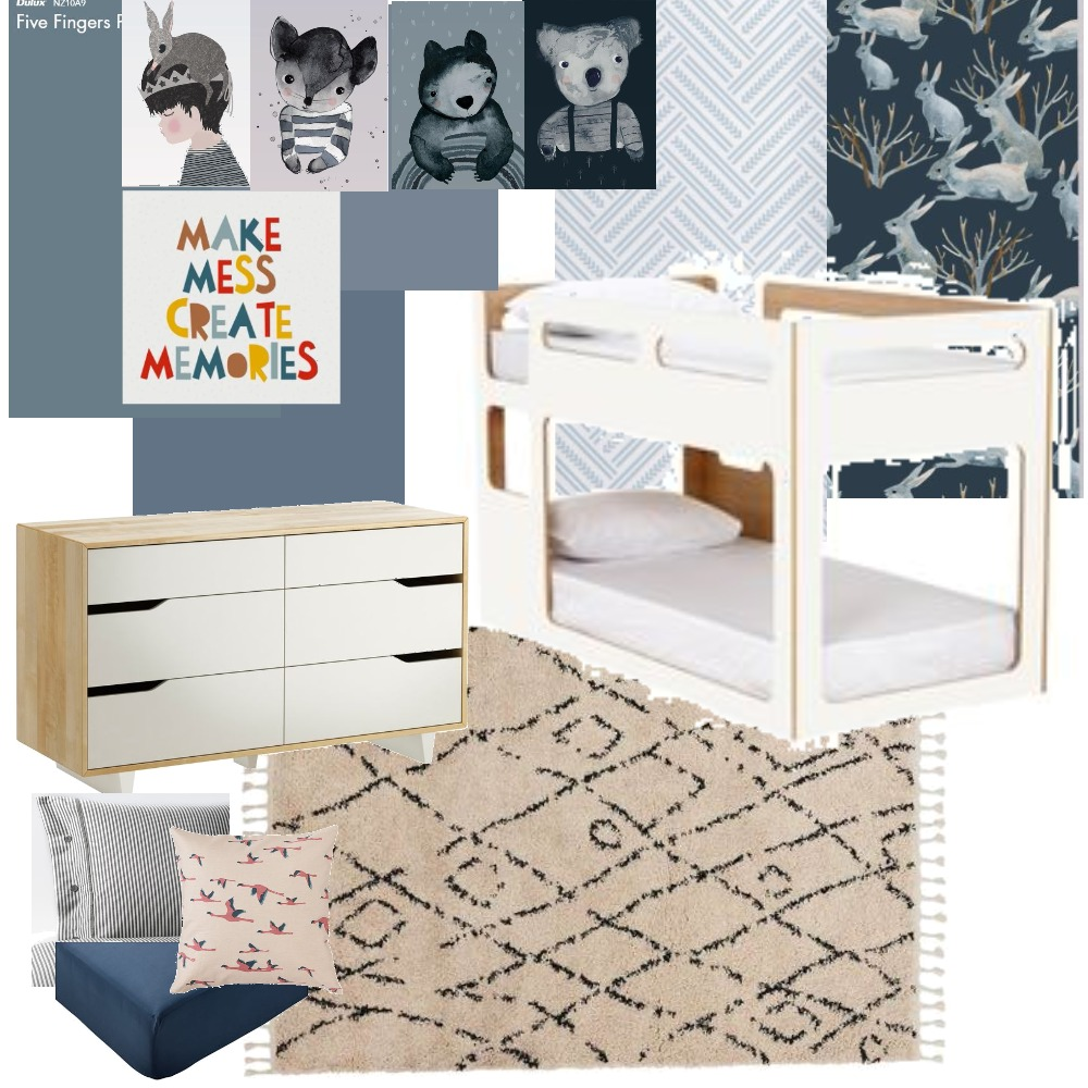 Kai's Room Mood Board by brittz187 on Style Sourcebook