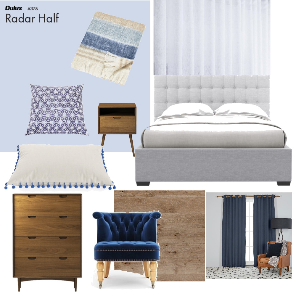 Rostrevor Bedroom #2 Mood Board by Plush Design Interiors on Style Sourcebook