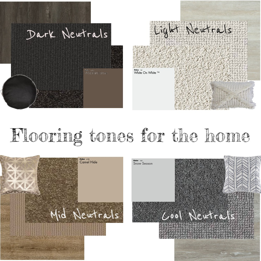 Flooring Tones for the Home Mood Board by Choices Flooring on Style Sourcebook