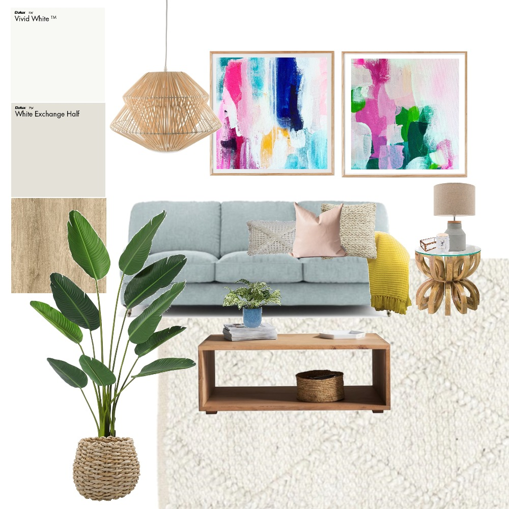 Colour Bomb Interior Design Mood Board by Tintin Christina on Style Sourcebook