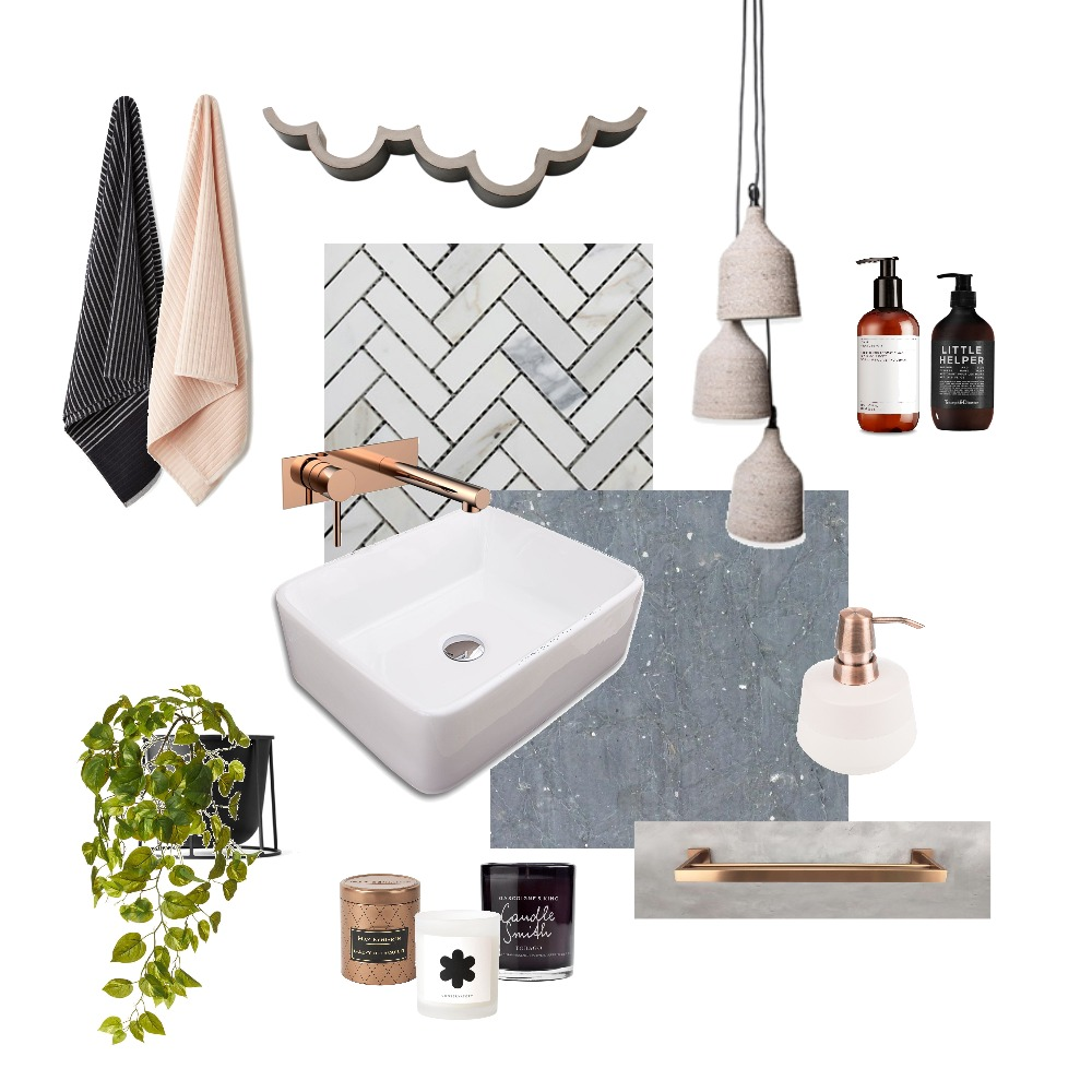 Bathroom Style Mood Board by Tintin Christina on Style Sourcebook