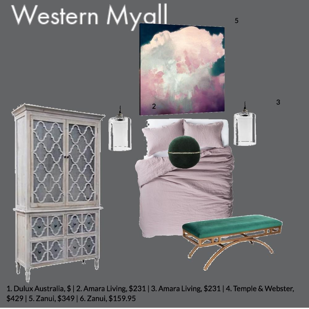 Main Bedroom Interior Design Mood Board by GeorginaRahi on Style Sourcebook