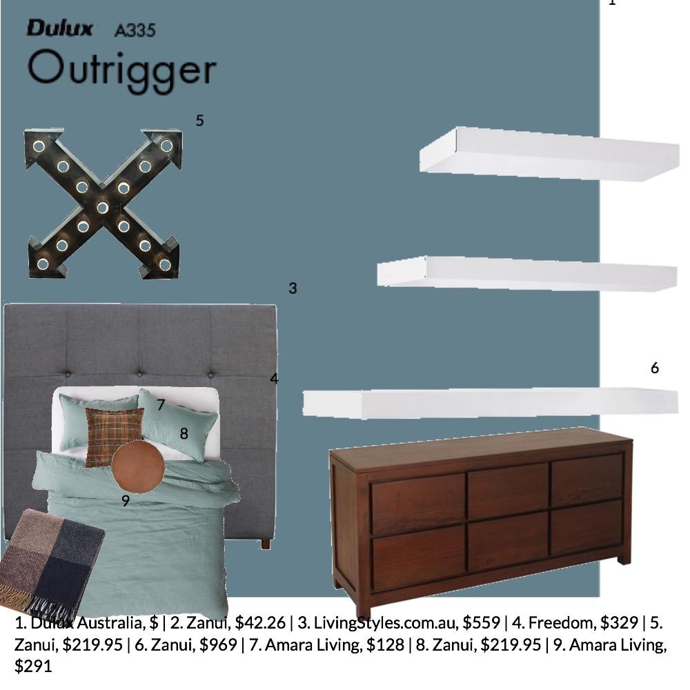 bed 2 Mood Board by GeorginaRahi on Style Sourcebook