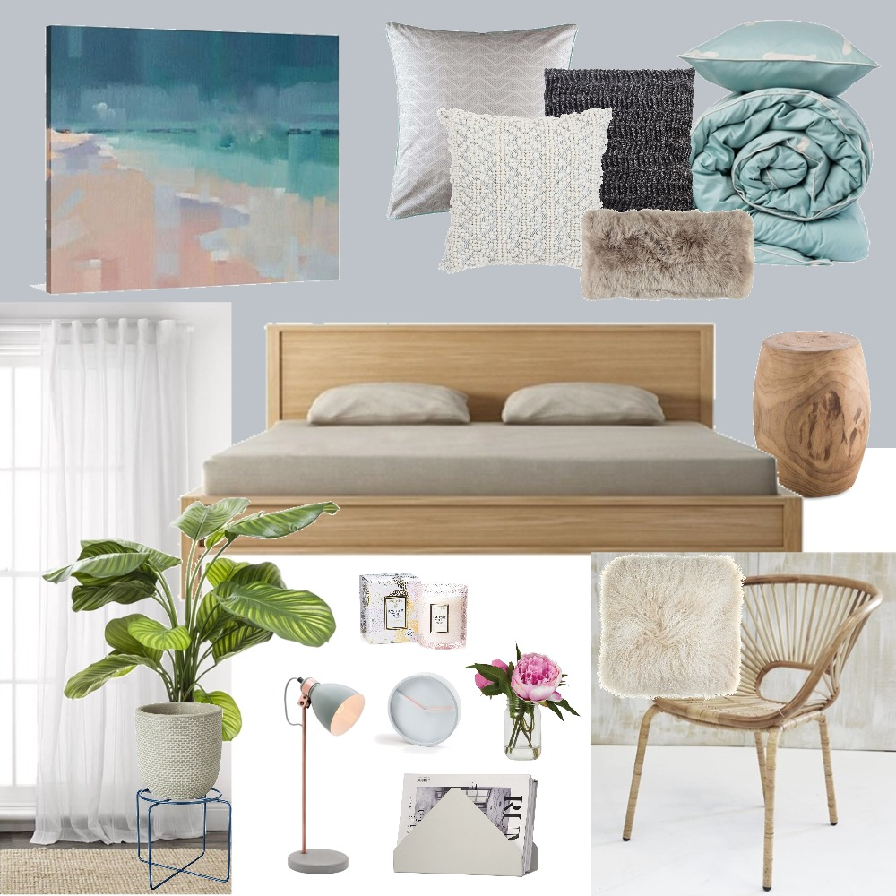 Bedroom Decor Mood Board by Tintin Christina on Style Sourcebook