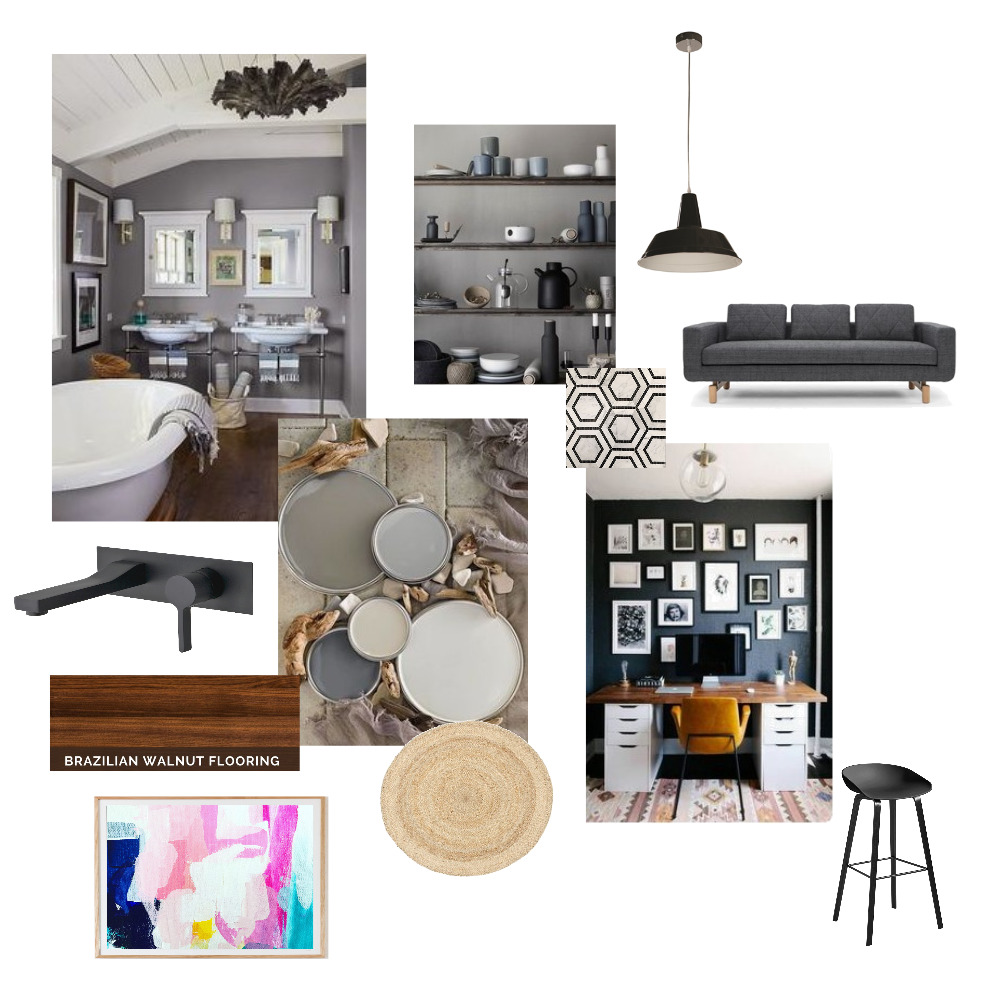 Achromatic Mood Board Mood Board by inordeck on Style Sourcebook