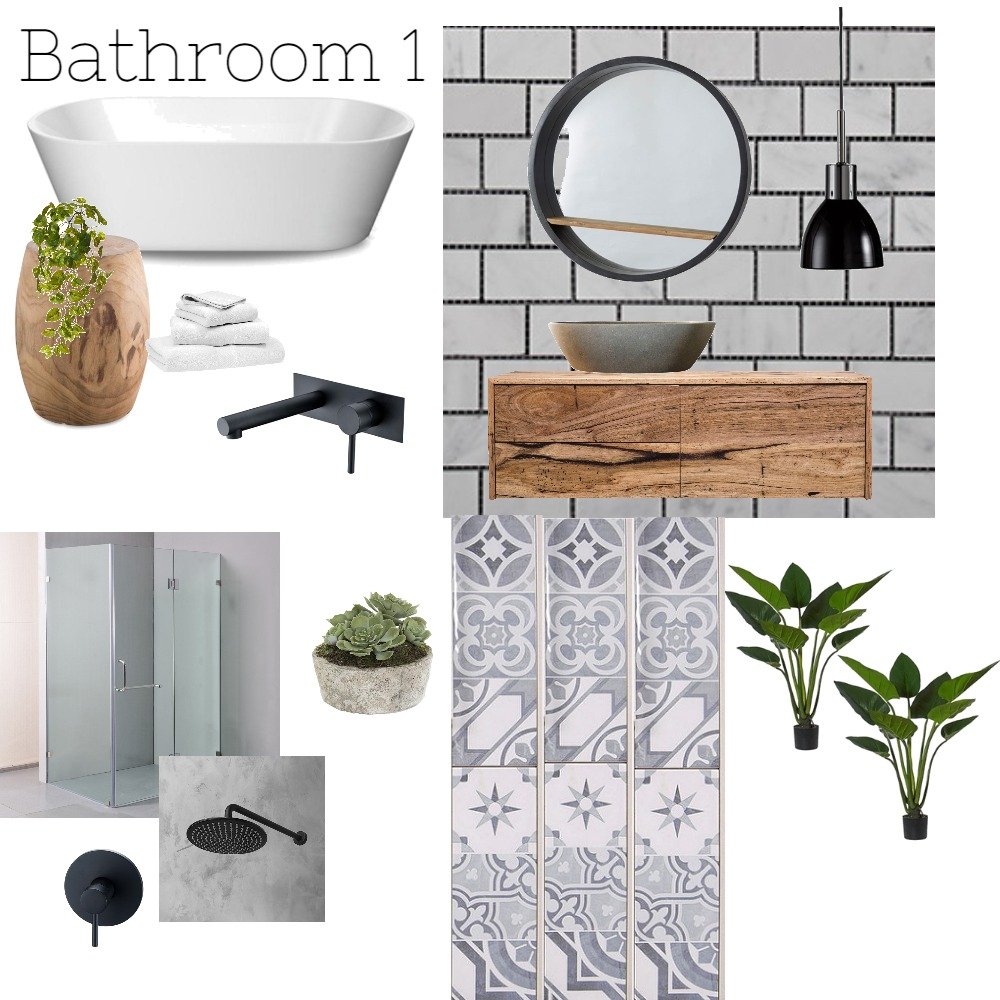 Kylie and Marcus's bathroom1 Mood Board by Nardia on Style Sourcebook