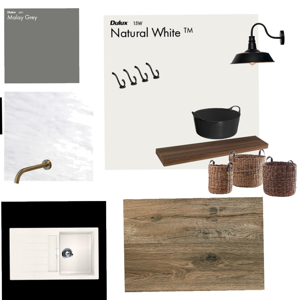 Laundry Mood Board by Ronni on Style Sourcebook