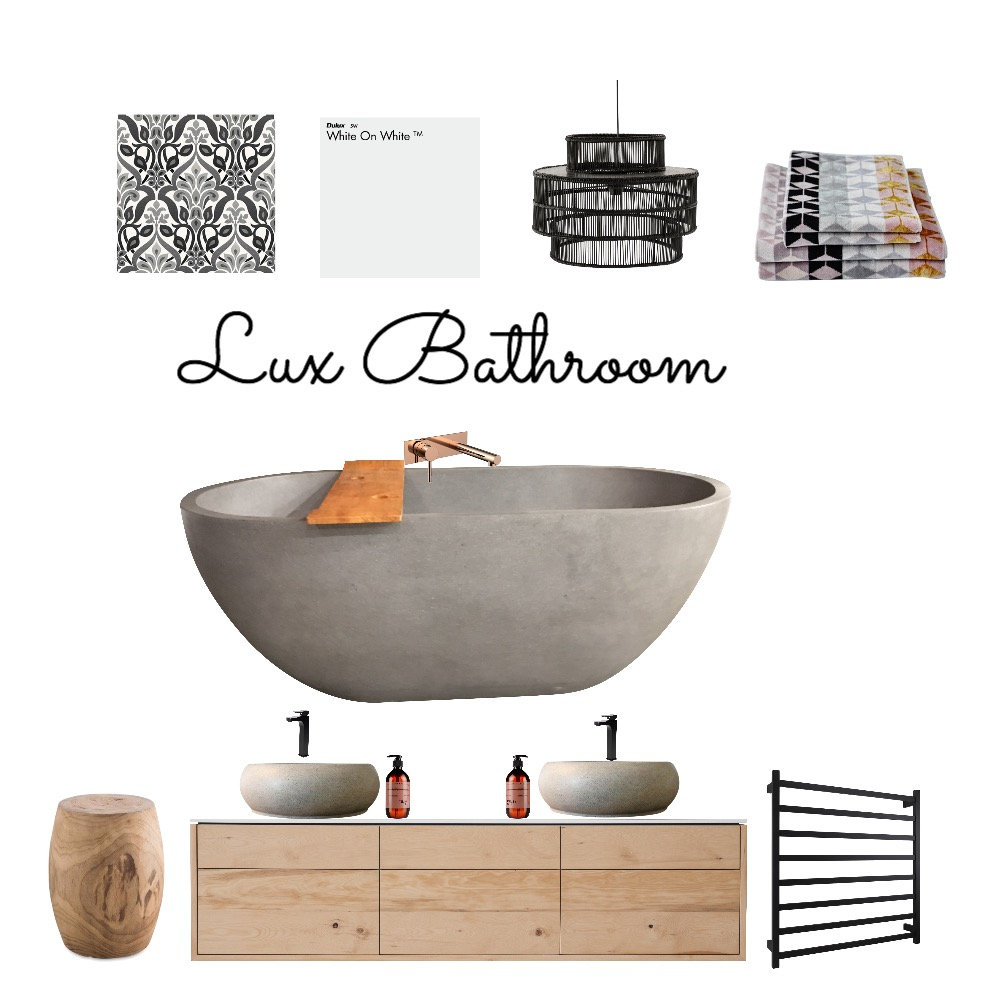 Lux bathroom Mood Board by Style A Space on Style Sourcebook