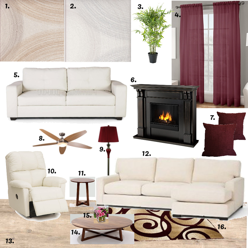Living Room Mood Board Mood Board by MichelleDyman on Style Sourcebook