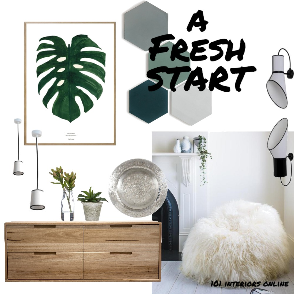 A Fresh Start Mood Board by 101 Interiors Online on Style Sourcebook