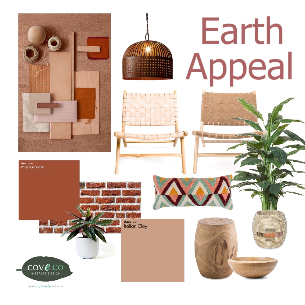 Earth Appeal Interior Design Mood Board by Coveco Interior Design on Style Sourcebook