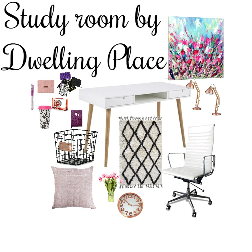 Study room Interior Design Mood Board by Lindo on Style Sourcebook