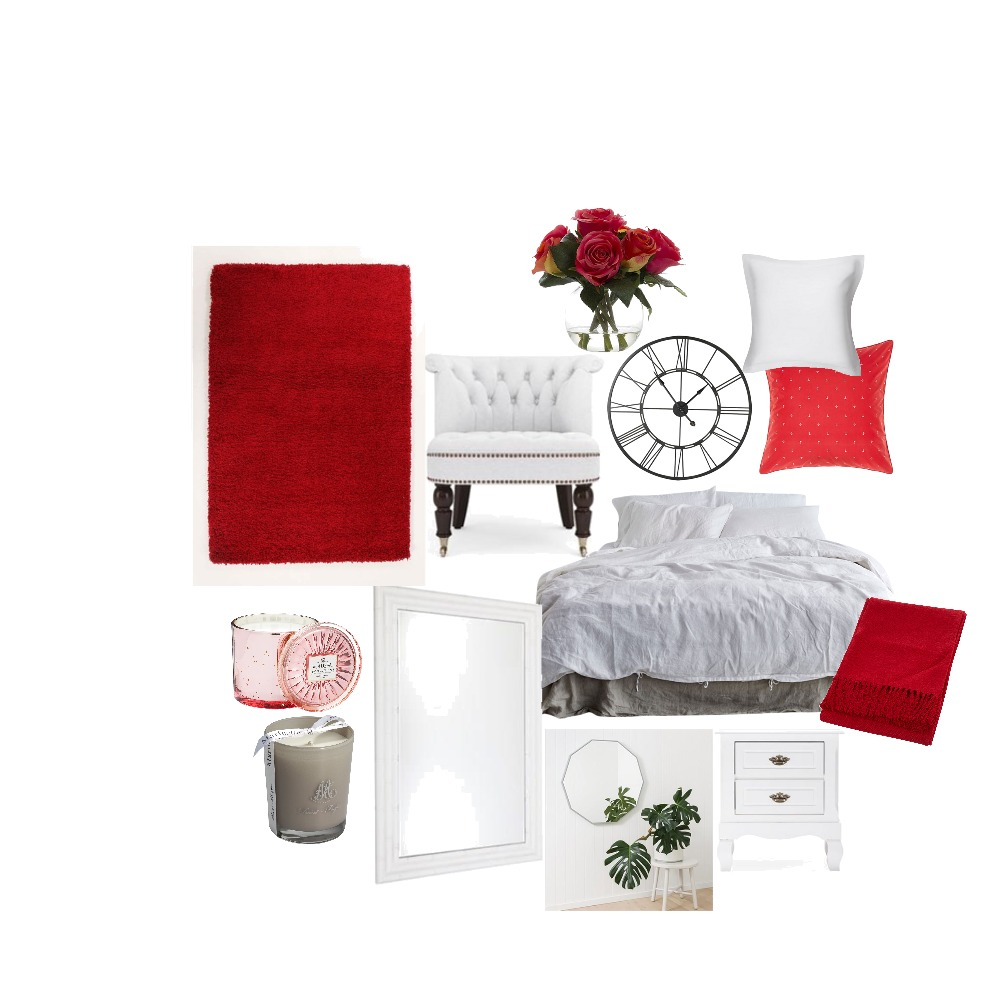 VDay bedroom Mood Board by Lindo on Style Sourcebook