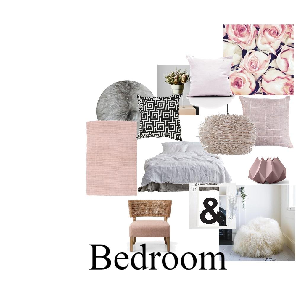 Pastel pink bedroom Mood Board by Lindo on Style Sourcebook