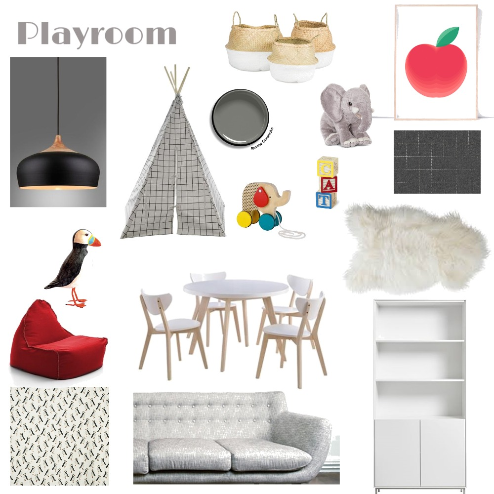 Playroom Interior Design Mood Board by LGDesigns on Style Sourcebook