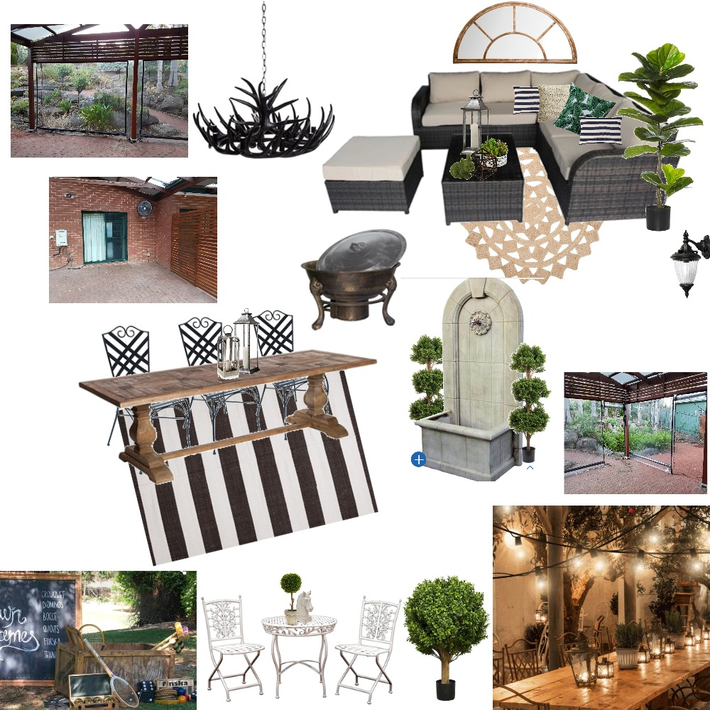 Outdoor Area Mood Board by MandiG on Style Sourcebook