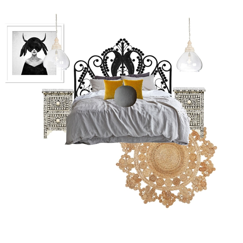 Midland Court - Master Bed Mood Board by Atelier Lane Interior Design on Style Sourcebook