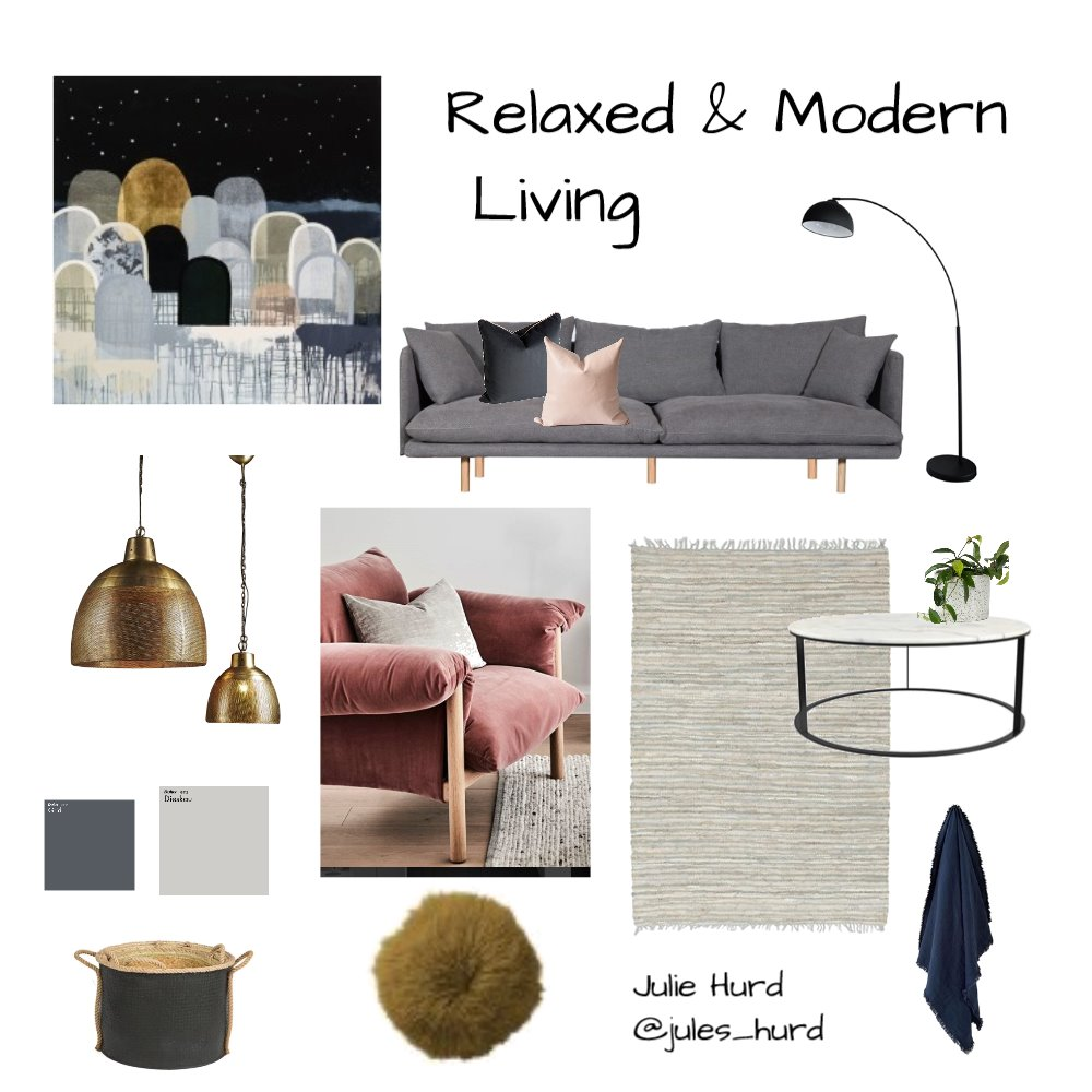 Relaxed &Modern Living Mood Board by JulesHurd on Style Sourcebook
