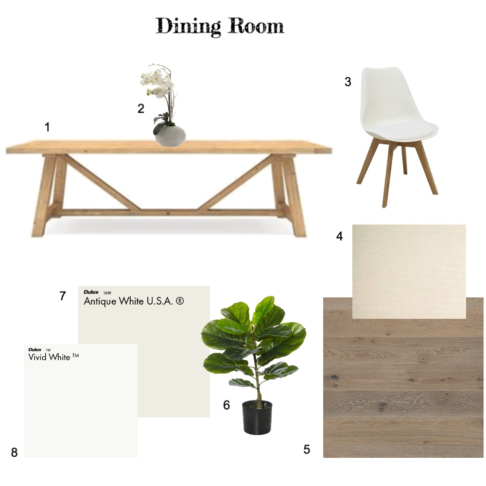 Assignment 9 IDI - Dining Mood Board by Cedar & Snø Interiors on Style Sourcebook