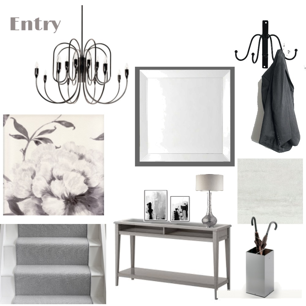 Entry Interior Design Mood Board by LGDesigns on Style Sourcebook