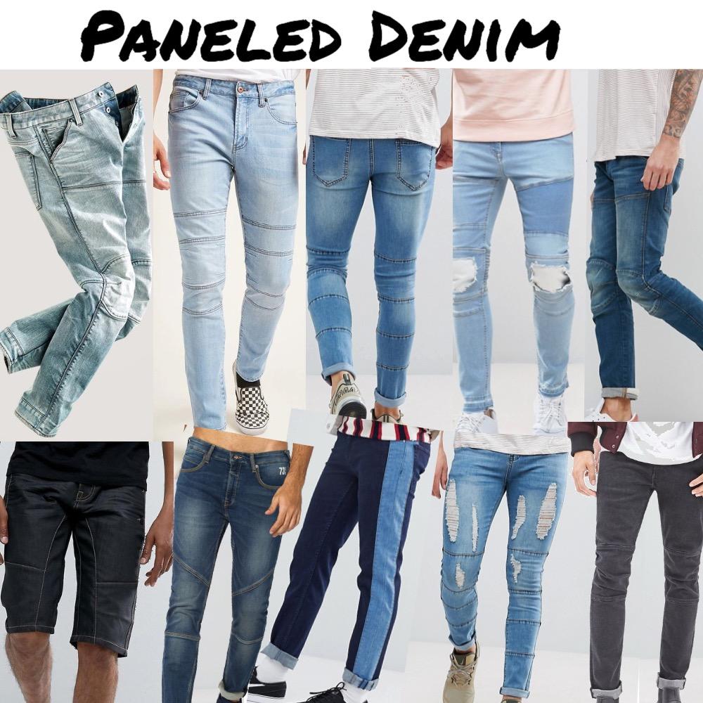Denim | Paneled Jeans Mood Board by snoobabsy on Style Sourcebook