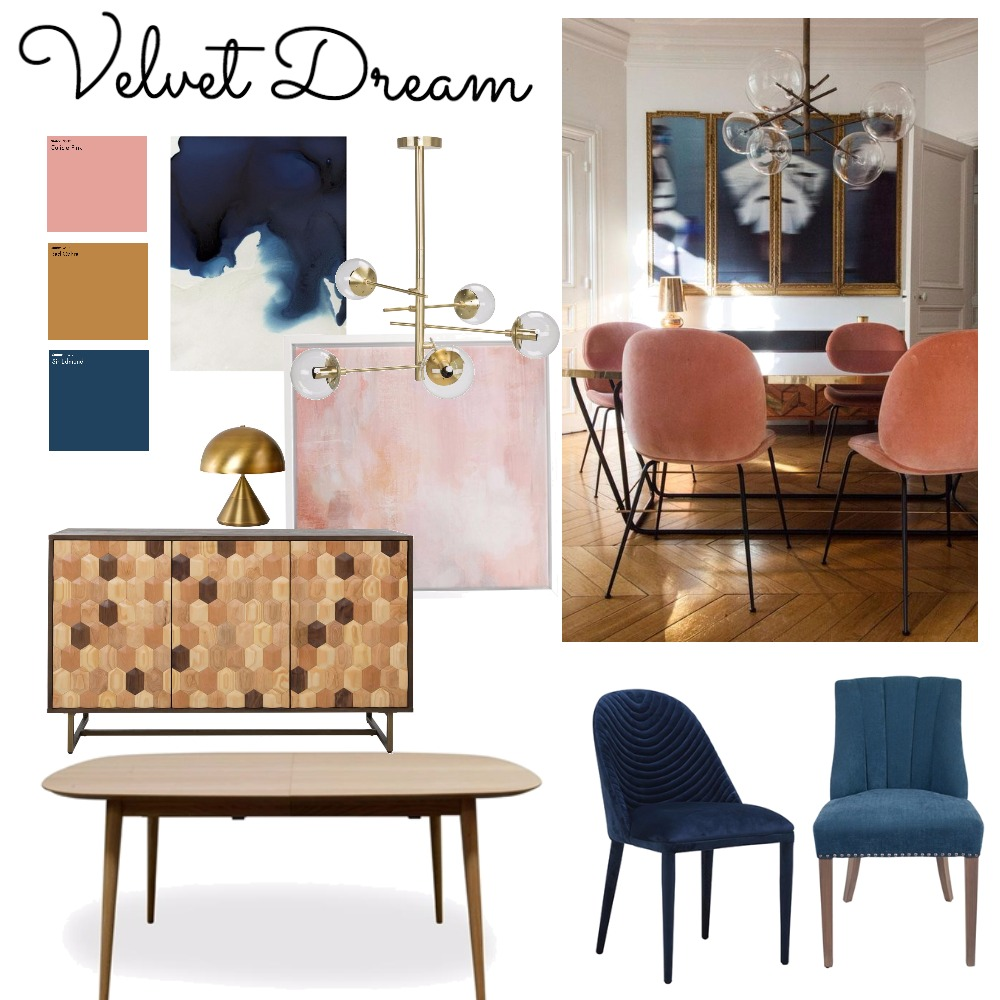 Velvet Dream Mood Board by ChampagneAndCoconuts on Style Sourcebook