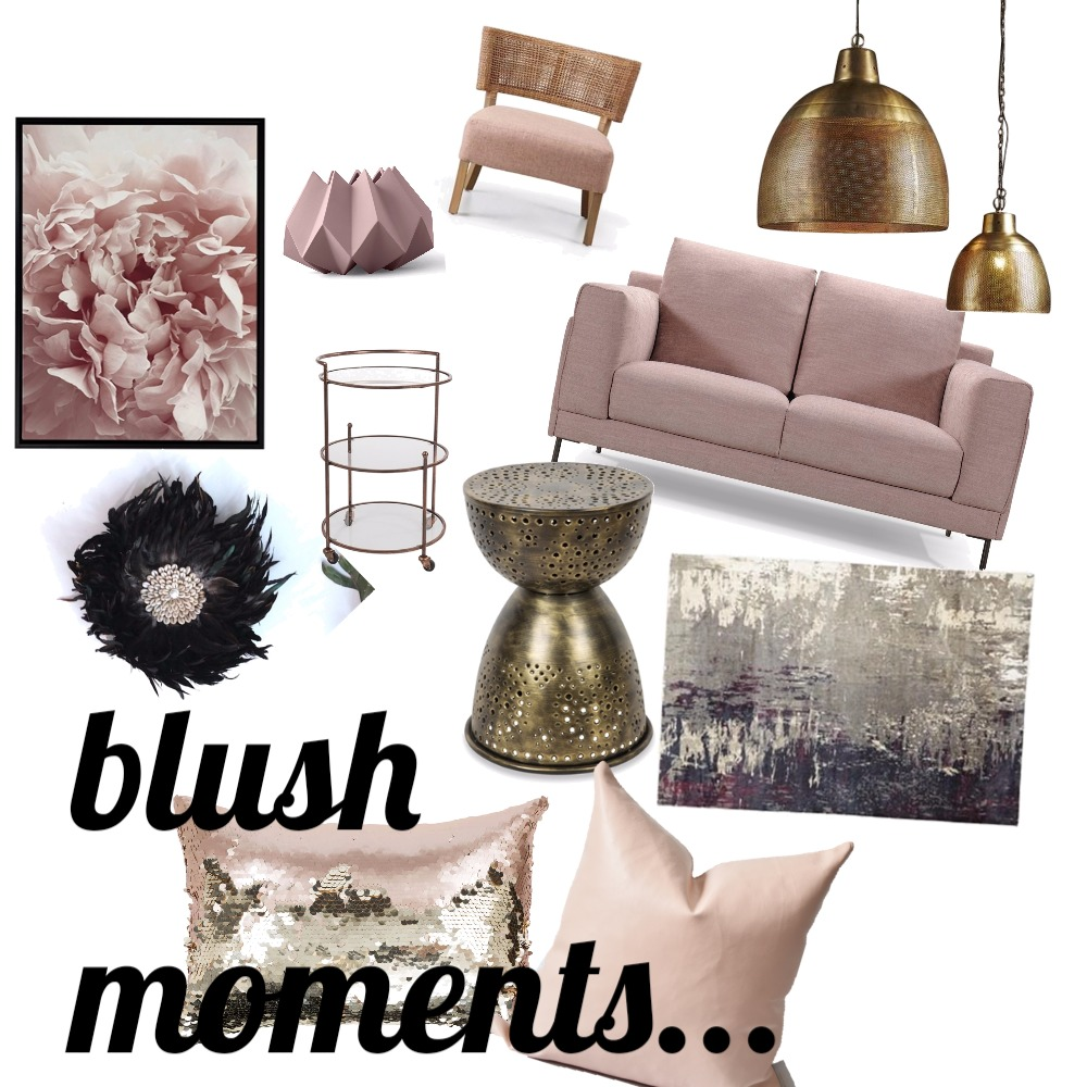 Blush moments... Mood Board by Fathima on Style Sourcebook