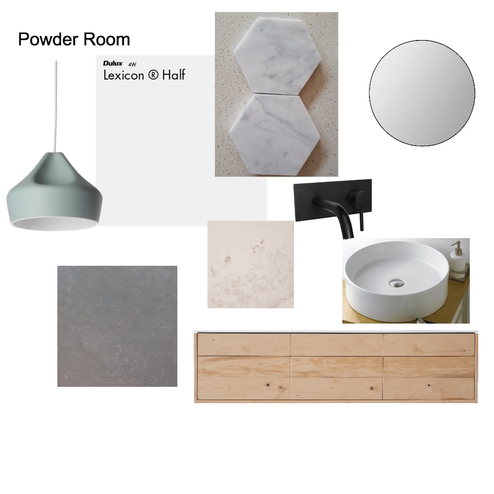 Powder Room Mood Board by mariega on Style Sourcebook