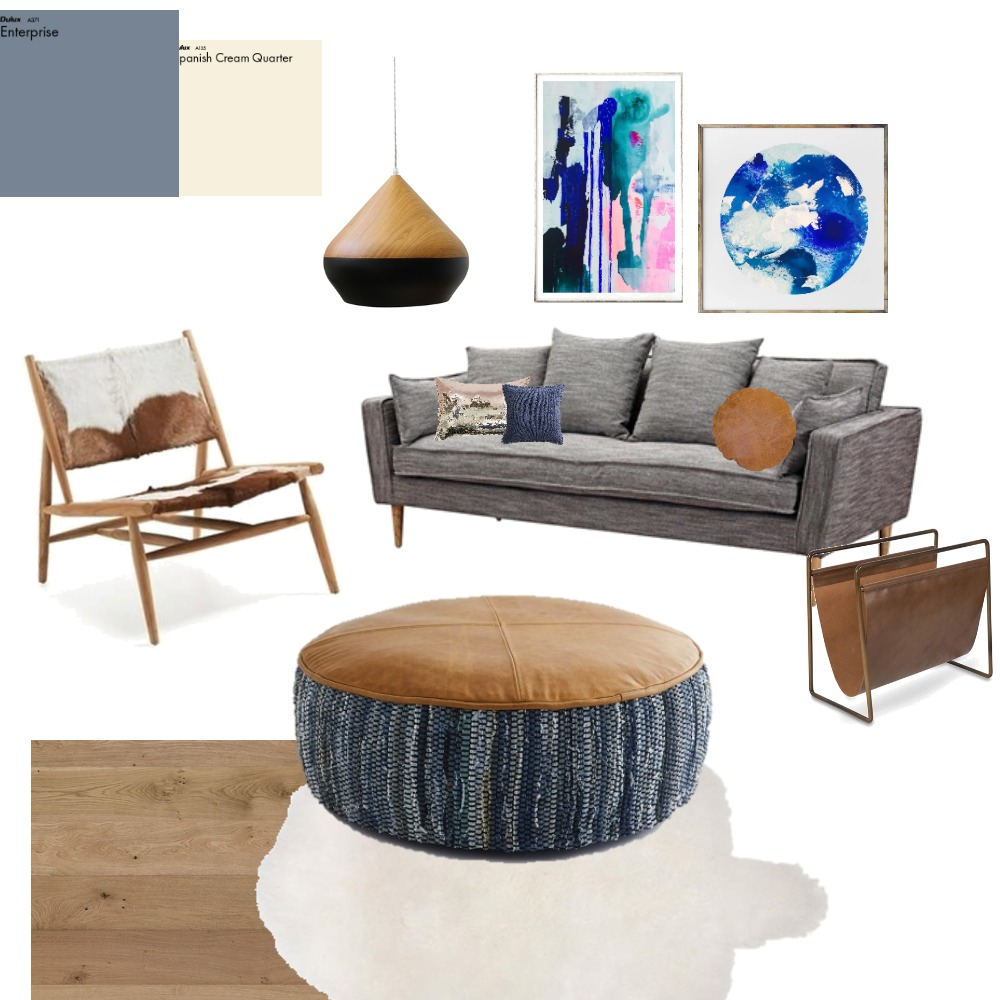 Stylish & Simple living room Interior Design Mood Board by farmehtar on Style Sourcebook