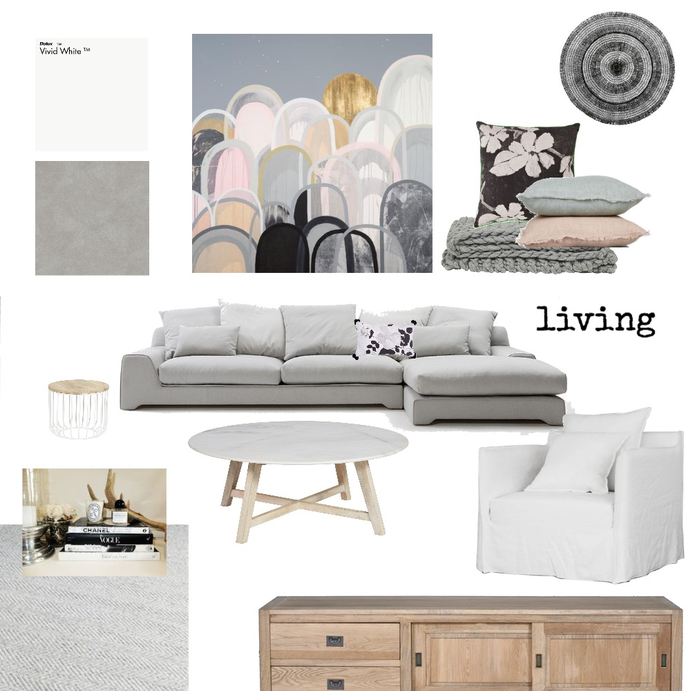 Echuca - living room 10 Mood Board by The Secret Room on Style Sourcebook
