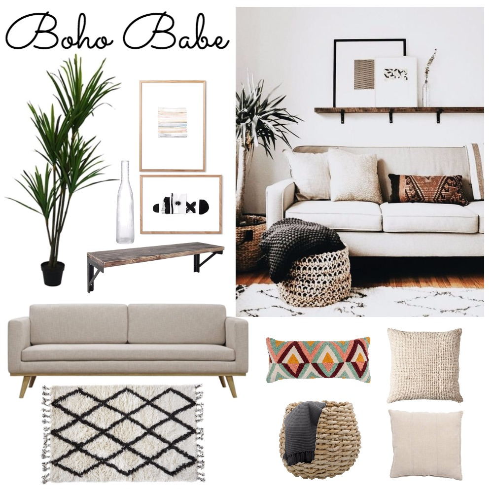 Boho Babe Mood Board by ChampagneAndCoconuts on Style Sourcebook